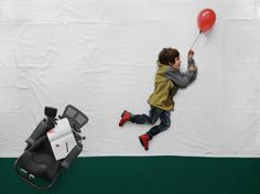 The 'Little Prince' is freed from his wheelchair by the magic of photography by Matej Peljhan.