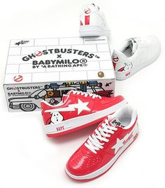BAPE Ghostbusters Sneakers