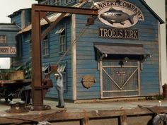 Setting up a model railroad? Some of the world's most impressive model train sets. Visit these totally free model train track strategies & layouts, projects and designs. N Scale Trains, Ho Trains, Model Trains, Forte Apache, Fishing Shack, Model Train Layouts, Thing 1, Train Tracks, Model Ships