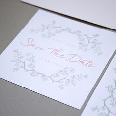 Save-the-dates are a