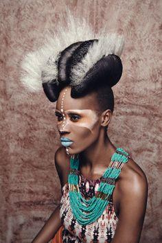Savannah Soul Model: Cherish Afrik  Make-up: Christine Torres  Hair: Emmanuel Esteban Stylist: Kimberley Howard  Retouch: Sebastian Bar/ Rafa Seoanes