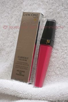 Im Test: Lancôme L'Absolu Velours - weder klassisches Gloss, noch Lippenstift. Eher ein intensives Lip Tint. Hält es auch, was es verspricht?