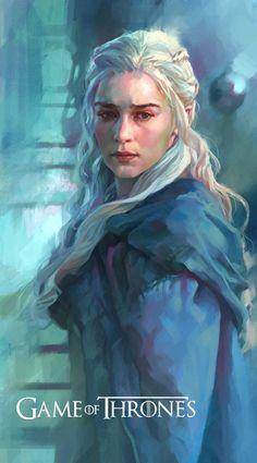 game of thrones daenerys targaryen | Daenerys Targaryen-Game of Thrones by KoweRallen