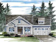 Empty-Nester House Plan, 014H-0098
