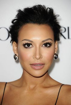 Naya Rivera Pulls Off Intense, Thick Lashes (P.S. Have You Heard Her News?)