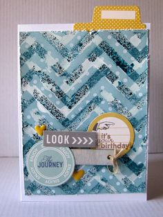 Gesso Stencil #Card #Tutorial #scrapbookSTEALS