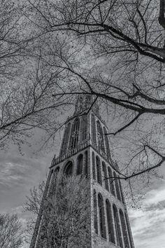 Utrecht, Dom, Tower, Abstract, Building, Artwork, Prints, Photography, Canvas