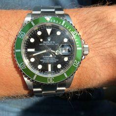 Rolex Submariner.. which you prefer Hulk or this? ⌚ ⌚ ⌚ #Rolex #watch #submariner #black #love #instagood #photooftheday #fashion #beautiful #happy #followme #picoftheday #follow #instadaily #instalike #life #amazing #sunset #versilia #bestoftheday #cool #lifestyle #instacool #forte dei marmi #awesome #instafashion #italy #instagram #luxury #fiorentino Rolex Submariner, Hulk, Rolex Watches, Awesome, Amazing, Italy, Unisex, Lifestyle, Cool Stuff