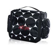 Deluxe Beauty Bag. 1 of 3 Hostess Exclusives. Free bonus bag with 7 travel sized bottles.