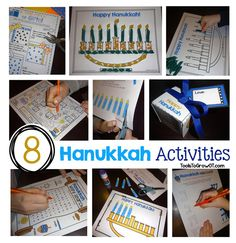 Hanukkah Activities and Crafts by Tools to Grow