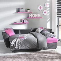 slaapkamer miami: moderne bed & meubels waaronder het ledikant, Deco ideeën