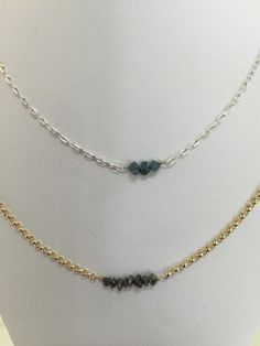 Pebbles by Gemstone Creations are also available as necklaces!