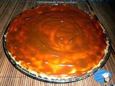 Cozinhando sem Glúten: Cheesecake de ricota com cobertura de doce de leite de chocolate                                                                                                                                                                                 Mais