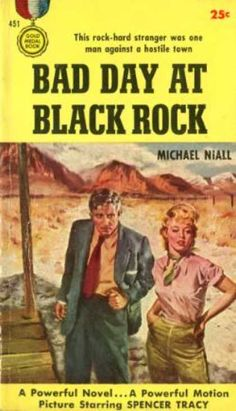 Gold Medal Paperback Book Covers | Gold Medal Books - Bad Day at Black Rock - Michael (howard Breslin ...