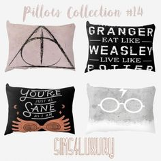 Pillow Collection #14 by Sims 4 Luxury for The Sims 4