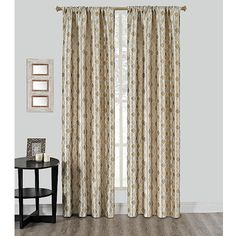 Riga Grommet Window Curtain Panel   BedBathandBeyond.com