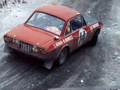 Lancia Fulvia 1.6 Coupé HF | #14 Sandro Munari/Mario Mannuci | Monte Carlo 1972 | winner