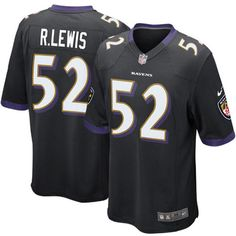 88db1ded6dc Ray Lewis 52 Player Men s Short Sleeve T-Shirt 2016-17 Season Game Jerseys