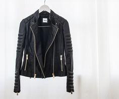 #ANINEBING leather jacket