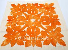 Napuananiblog 新宿土曜日活動 Hawaiian Quilt Patterns, Hawaiian Quilts, Longarm Quilting, Quilting Ideas, Hawaiian Gardens, Hand Applique, Luau, I Fall In Love, Quilt Blocks
