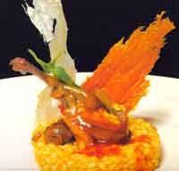 Arroz 15 minutos con dúo crujiente de arroz - Cocina extremeña. Gastronomía de Extremadura - RedExtremadura.com