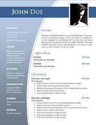 Le Marais Free Modern Resume Template for Word (DOCX) | Modern ...
