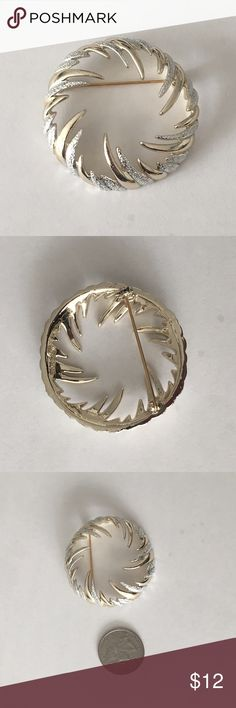 Vintage Brooch From my Grandmothers Vintage Collection. She started collected them when she was younger at yard sales in New York. Over 700 pins and brooches in her collection. I have 2 of them. Jewelry Brooches