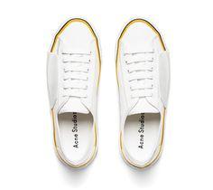 Acne Studios Todd white/Swedish Canvas tennis shoes