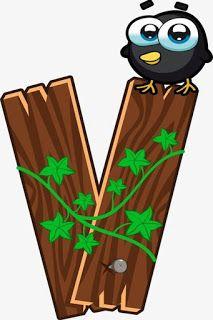 Escuela infantil castillo de Blanca: ALFABETO: LA GRANJA Cute Alphabet, Animal Alphabet, Alphabet And Numbers, Alfabeto Animal, Alphabet Templates, Letter V, Wood Letters, Craft Activities, Wood Design