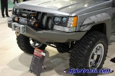 Jeep ZJ - Bushwacker SEMA. must have this for the grand