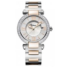 Chopard Mixed Metal Diamond Bezel Watch  5cdb28ca2ab