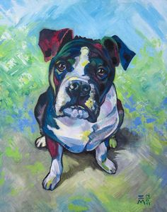 The Dog  Acrylic