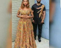 Couples African Outfits, African Dresses For Women, African Attire, African Women, Ugly Outfits, Couple Outfits, Wedding Suit Styles, Traditional African Clothing, African Men Fashion