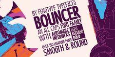 Bouncer™ - Webfont & Desktop font « MyFonts