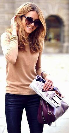Decent Fall Street Fashion Style