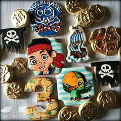 jake and the Neverland Pirates cookies