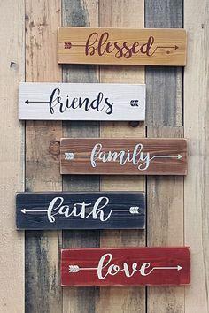 Mini signs