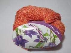 Gomitolo 50 grammi ARANCIONE / Balle 50 grammes ORANGE