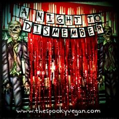 Zombie Party Decorations | ... 31 Days of Halloween: A Night to Dismember Zombie Prom Halloween Party