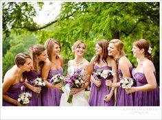 small bridesmaid bouquets