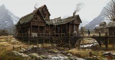 The medieval house. by mujon21 - MIN SONG - CGHUB