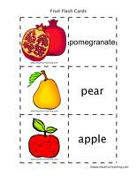Very comprehensive flash cards for fruit vocab. First Grade Activities, Teaching First Grade, Kindergarten Activities, Preschool, Have Fun Teaching, Teaching Kids, Good Introduction, Montessori Education, Teaching English