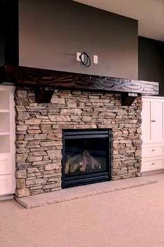 Newest Screen Fireplace Remodel with tv Strategies DIY Entertainment Center Int. : Newest Screen Fireplace Remodel with tv Strategies DIY Entertainment Center Into a Play Kitchen Fireplace Update, Farmhouse Fireplace, Home Fireplace, Fireplace Remodel, Living Room With Fireplace, Fireplace Surrounds, Fireplace Design, Fireplace Ideas, Fireplace Stone