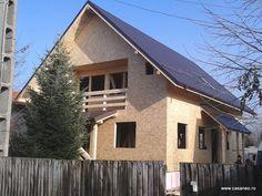 Constructii case structura lemn la rosu - cum am construit casa din lemn...