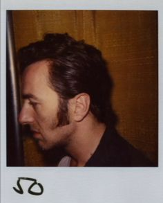 Joe Strummer hair and costume test for Mystery Train