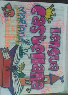 My Notebook, Notebooks, Kids Rugs, School, Mariana, Embellishments, Decorated Notebooks, Love Gifts, To Draw