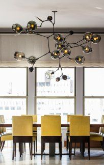 Huge Branching Bubbles Chandelier by Lindsay Adelman