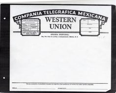 founded in 1856 western union used the new cutting edge telegram technology to send messages. Black Bedroom Furniture Sets. Home Design Ideas