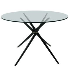 Mid Century Modern Dining Table by Guy Barker | From a unique collection of antique and modern dining room tables at http://www.1stdibs.com/furniture/tables/dining-room-tables/