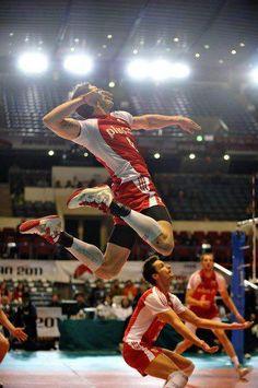 Zbigniew Bartman of Poland Volleyball Team